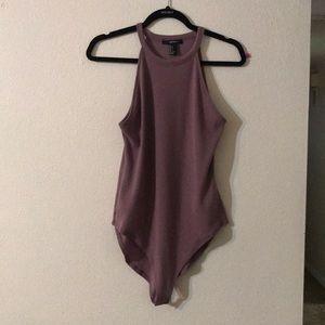 Halter bodysuit